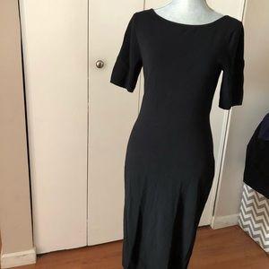 Theory Narlissa Back Cutout Sheath dress
